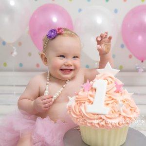 cake smash photoshoot canberra