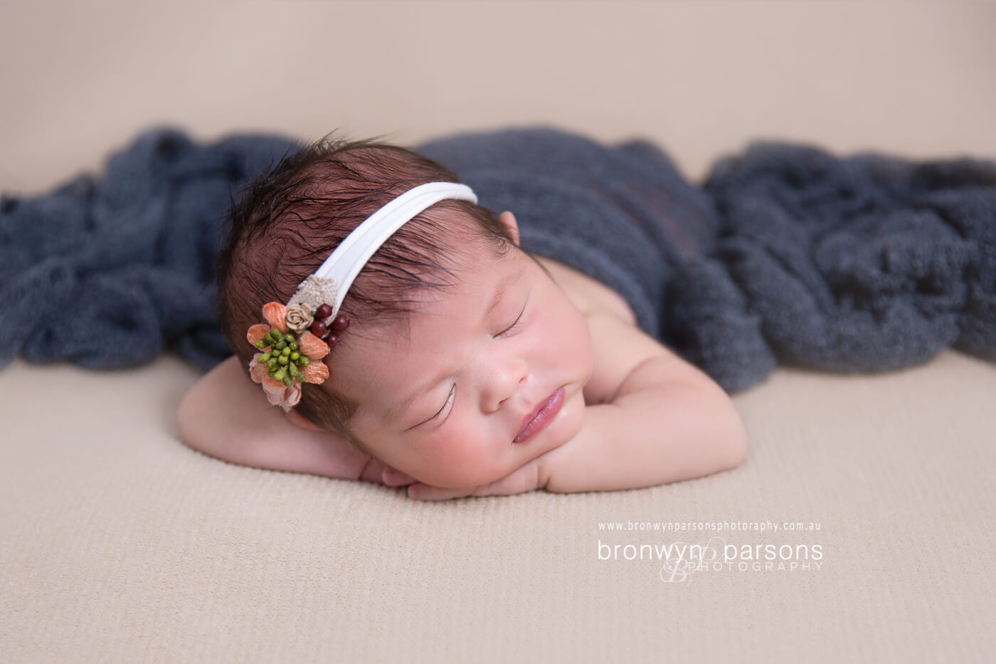 Newborn photography bronwyn parsons photography