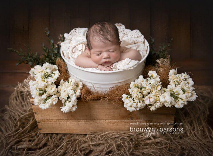 Newborn Baby Portrait Canberra