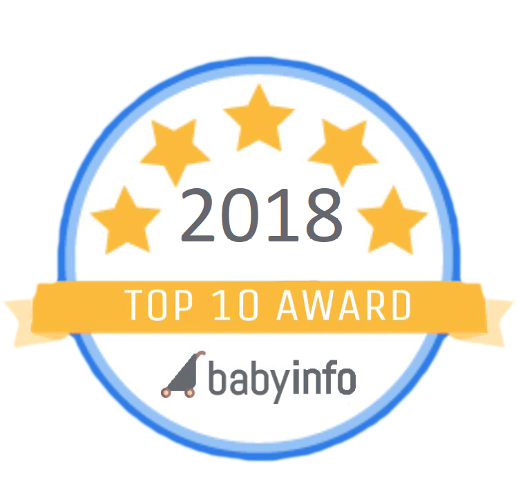 babyinfo top ten award 2018